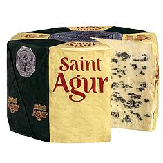 Queso azul Saint Agur. Alternativa delicada