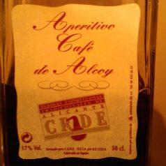 Aperitivo Café de Alcoy. Malo, inane, fútil y desnaturalizado