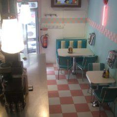 Peggy Sue's American Diner (Bilbao). Peazo hamburguesería