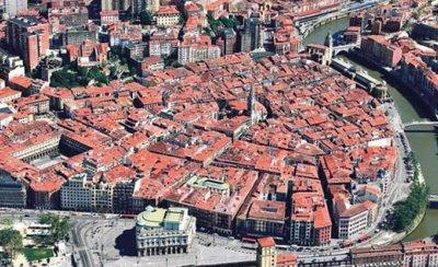 Casco Viejo de Bilbao, la sede del bar Baste.