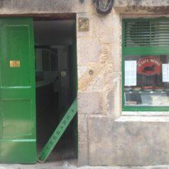 O Gato Negro (Santiago de Compostela). Una tasca de cabecera