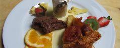 Restaurante Saint-Loup (Orthez). Animal que vuela, a la cazuela