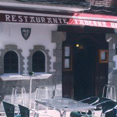 Taberna Unai (Portugalete). Quien mucho abarca, poco aprieta