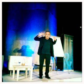 El Ferran avisa, El Bulli está en plena Fundación (foto: cuchillo)