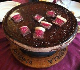 Carne a la piedra de La Alegría (foto: Uve)