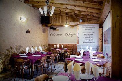 Restaurante la alegr a fuentes de ropel como en casa - Restaurante teatro campos ...