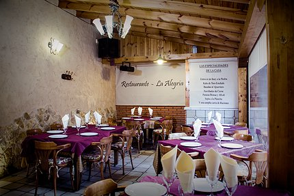 Comedor de La Alegría (foto: restaurantelalegria.com)