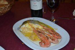 Merluza en La Alegría (foto: FB del restaurante)