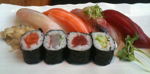 Sushi moriwase de Shibui Bilbao (foto: cuchillo)