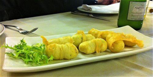 Pasta brie con bacalao, de Lukainkategi (foto: Uve)