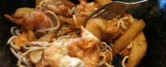 Sidrería Xagarda (Poo de Llanes). Parada obligada, platos combinados asturianos