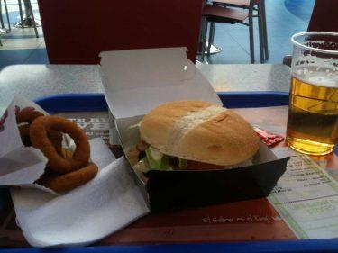 Menú Steakhouse César de Burger King (foto: cuchillo)