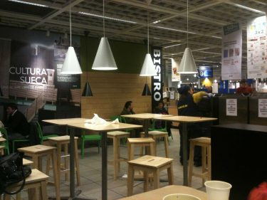 Ikea Bistro de Barakaldo (foto: cuchillo)