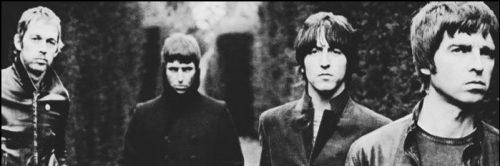 Así de malencarados posaban los Oasis, oíga.