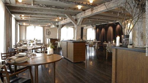 Interior del restaurante Noma, en Dinamarca.