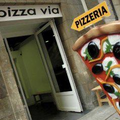 Bienvenidos a Pizza Via (Bilbao)