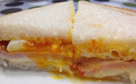 Sección del sandwich lomero (foto: Igor Cubillo)