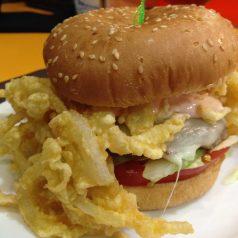 Cafetería Florida (Bilbao). Un telegrama por su hamburguesa