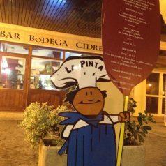 Bienvenidos a Bodega-Sidrería La Pinta (Hendaia)