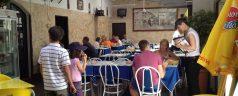 Adega Paço do Conde (Coimbra). La importancia del orden en la mesa.
