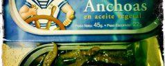 Filetes de anchoas Leribe. Lamentable