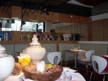 Vista del comedor de La Casona del Judío (foto: Susana)