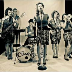 The Clams. 'Happy as a clam'