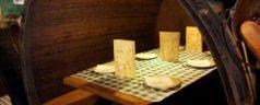 Sidrería Muros (Nueva de Llanes). Cachopo, chuletón, fabes, patatas y sidra. Comida ligera