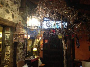 Recibidor del restaurante Belaustegi Baserria (foto: Igor Cubillo)