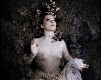 Imagen promocional de la cantante islandesa Björk.