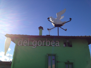 La paloma de El Pastor del Gorbea (f: Cuchillo)