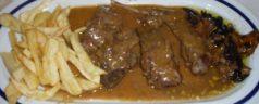 Restaurante La Vasca (Miranda de Ebro). Mejor en temporada de caza y setas