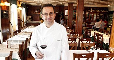 Iñigo Ruiz, chef de La Vasca (elcorreo.com)