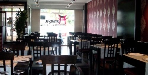 Imagen del comedor del restaurante Tamaya tomada de eltenedor