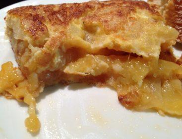 Ni desleida ni apelmazada, la tortilla de Kepa Landa (foto: Cuchillo)