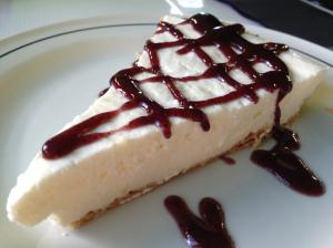 Tarta de queso de El Pastor del Gorbea (f: Cuchillo)