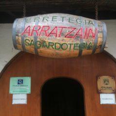 Bienvenidos a Arratzain Sagardotegia (Usurbil)
