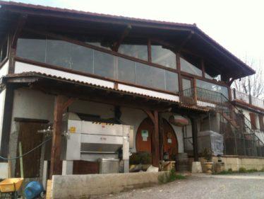 Fachada del agroturismo-sidrería Arratzain, en Usurbil (foto: Igor Cubillo)
