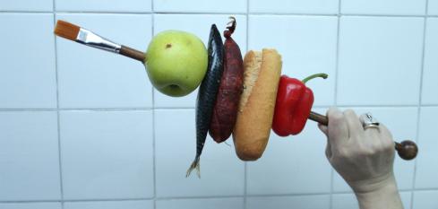 Imagen promocional de 'Gastronomía', exposición de Miguel Larrarte.