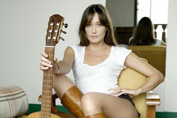 Carla Bruni, en imagen de Claude Gassian.