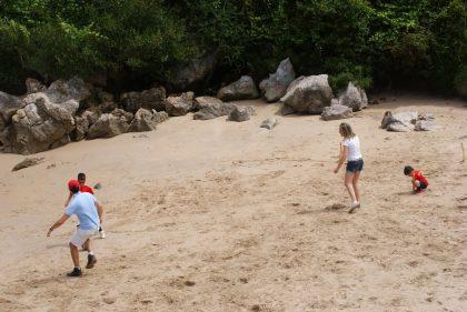 La playa de Gulpiyuri, no se vayan sin verla. foto zuloko