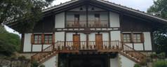 Restaurante Aretxondo (Galdakao). Vasco con vistas verdes