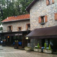 Restaurante Kako (Astigarraga). Bien de salsas, y un poco de rentas