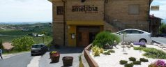 Restaurante Amelibia (Laguardia). Extramuros pero imbatible