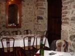 Detalle del comedor de Casa Poli (foto: Susana)