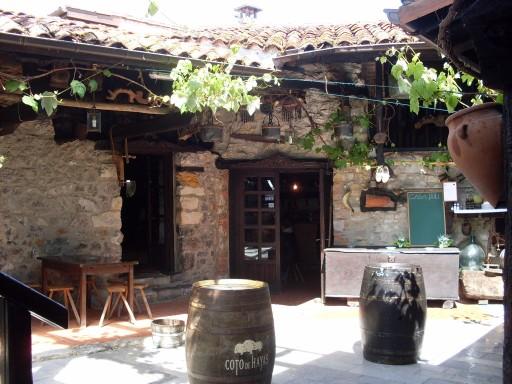 Así luce el patio de Casa Poli (foto: Susana)