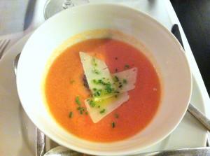 Sopa de tomate, de Ágape (foto: María Mora)
