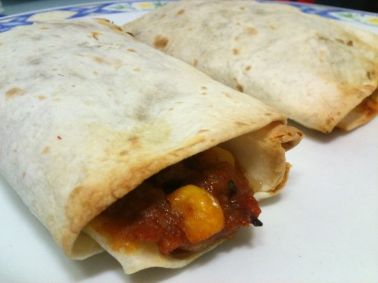 Burritos de chili con carne Doña Lupe; ándele (foto: Cuchillo)