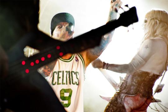 Imagen artística de Limp Bizkit, controvertido estandarte del nu metal.