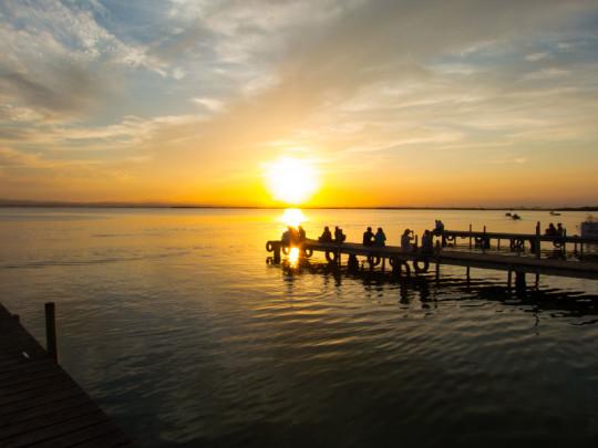 Puesta de sol en Albufera (foto: El Rmrls)